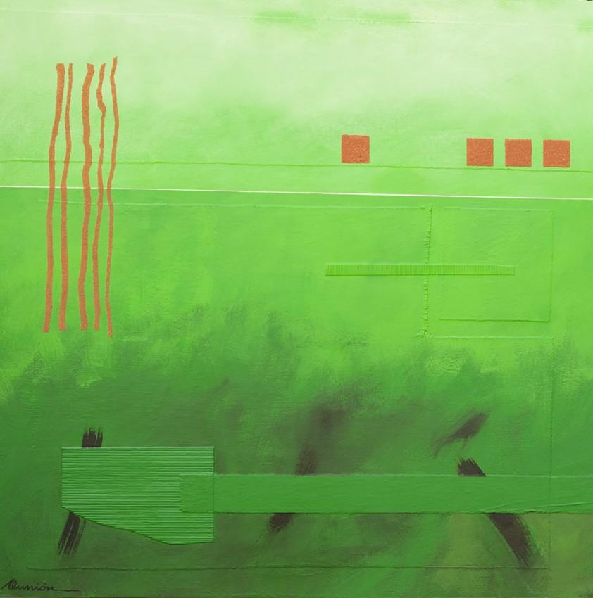 """Aunión """"Suspensión"""", 2014."""